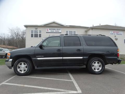 2004 GMC Yukon XL 1500 for sale at SOUTHERN SELECT AUTO SALES in Medina OH