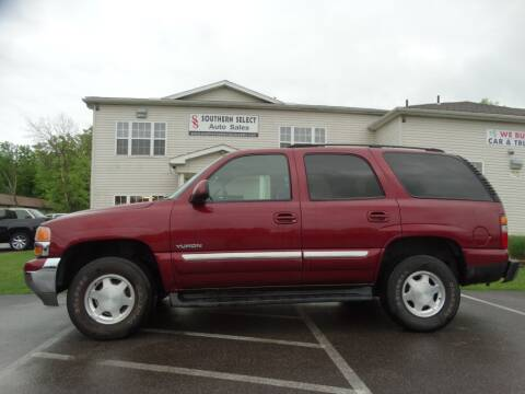 2003 GMC Yukon for sale at SOUTHERN SELECT AUTO SALES in Medina OH