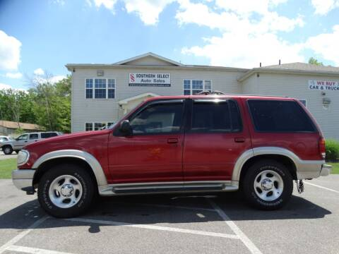 2001 Ford Explorer for sale at SOUTHERN SELECT AUTO SALES in Medina OH
