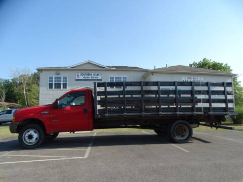 2001 Ford F-550 Super Duty for sale at SOUTHERN SELECT AUTO SALES in Medina OH