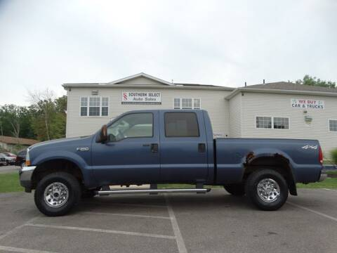 2004 Ford F-250 Super Duty for sale at SOUTHERN SELECT AUTO SALES in Medina OH