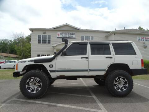 1999 Jeep Cherokee for sale at SOUTHERN SELECT AUTO SALES in Medina OH