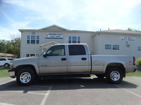 2002 Chevrolet Silverado 1500HD for sale at SOUTHERN SELECT AUTO SALES in Medina OH