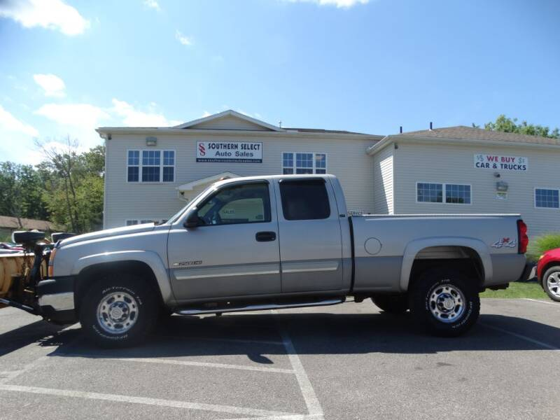 2006 Chevrolet Silverado 2500HD for sale at SOUTHERN SELECT AUTO SALES in Medina OH