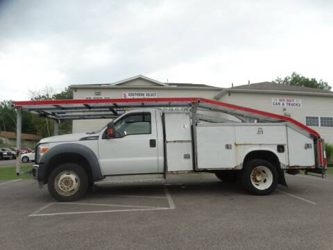 2011 Ford F-550 Super Duty for sale at SOUTHERN SELECT AUTO SALES in Medina OH