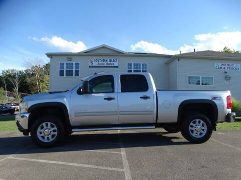 2012 Chevrolet Silverado 2500HD for sale at SOUTHERN SELECT AUTO SALES in Medina OH