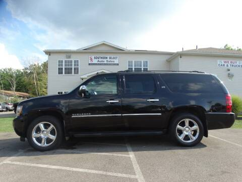 2012 Chevrolet Suburban for sale at SOUTHERN SELECT AUTO SALES in Medina OH