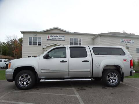 2010 GMC Sierra 1500 for sale at SOUTHERN SELECT AUTO SALES in Medina OH