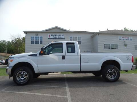 2013 Ford F-250 Super Duty for sale at SOUTHERN SELECT AUTO SALES in Medina OH