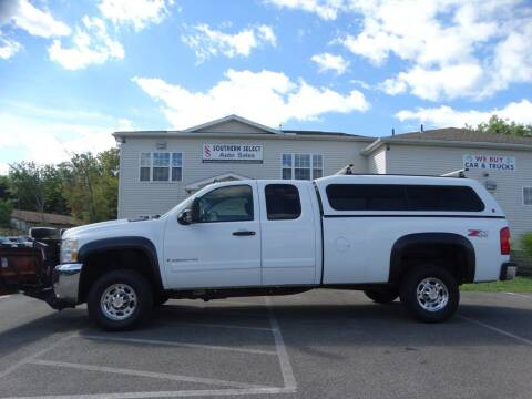 2007 Chevrolet Silverado 2500HD for sale at SOUTHERN SELECT AUTO SALES in Medina OH
