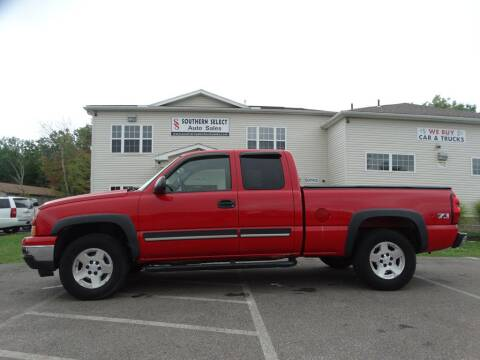 2007 Chevrolet Silverado 1500 Classic for sale at SOUTHERN SELECT AUTO SALES in Medina OH