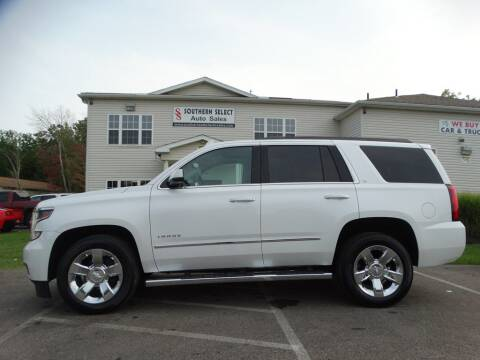 2016 Chevrolet Tahoe for sale at SOUTHERN SELECT AUTO SALES in Medina OH