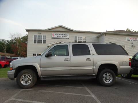 2005 Chevrolet Suburban for sale at SOUTHERN SELECT AUTO SALES in Medina OH