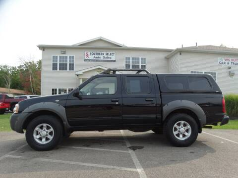 2001 Nissan Frontier for sale at SOUTHERN SELECT AUTO SALES in Medina OH