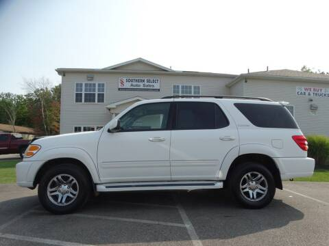 2003 Toyota Sequoia for sale at SOUTHERN SELECT AUTO SALES in Medina OH