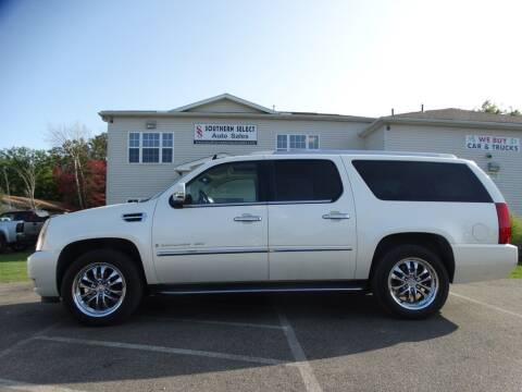 2007 Cadillac Escalade ESV for sale at SOUTHERN SELECT AUTO SALES in Medina OH