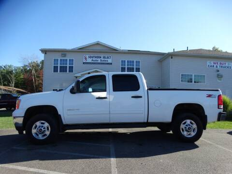 2012 GMC Sierra 2500HD for sale at SOUTHERN SELECT AUTO SALES in Medina OH