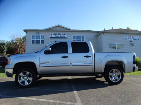 2011 GMC Sierra 1500 for sale at SOUTHERN SELECT AUTO SALES in Medina OH