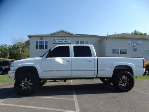 2002 GMC Sierra 1500HD for sale at SOUTHERN SELECT AUTO SALES in Medina OH