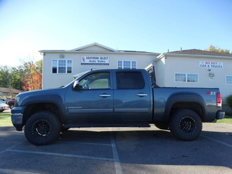 2008 GMC Sierra 1500 for sale at SOUTHERN SELECT AUTO SALES in Medina OH