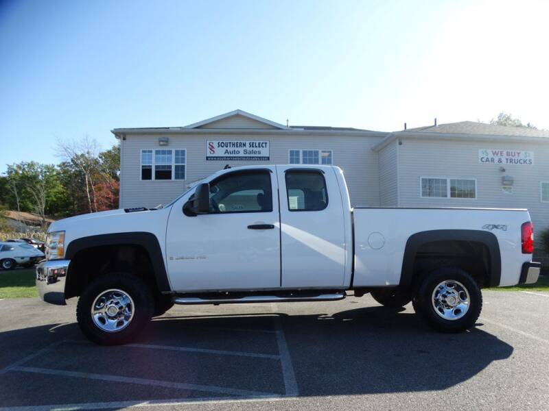 2009 Chevrolet Silverado 2500HD for sale at SOUTHERN SELECT AUTO SALES in Medina OH