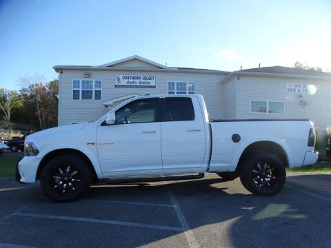2010 Dodge Ram Pickup 1500 for sale at SOUTHERN SELECT AUTO SALES in Medina OH