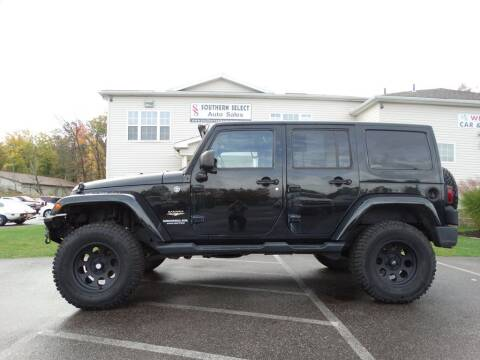 2012 Jeep Wrangler Unlimited for sale at SOUTHERN SELECT AUTO SALES in Medina OH