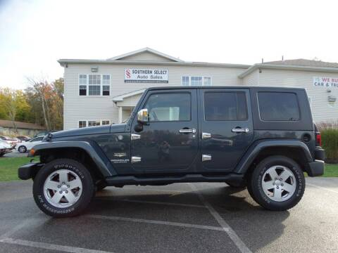 2007 Jeep Wrangler Unlimited for sale at SOUTHERN SELECT AUTO SALES in Medina OH
