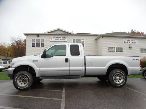 2002 Ford F-250 Super Duty for sale at SOUTHERN SELECT AUTO SALES in Medina OH