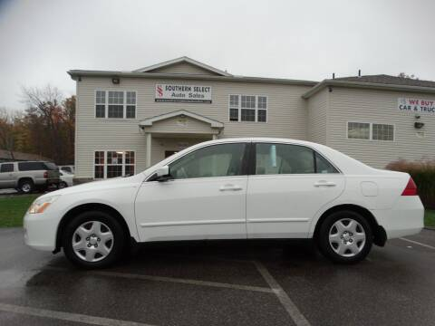 2007 Honda Accord for sale at SOUTHERN SELECT AUTO SALES in Medina OH