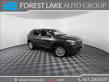 2017 Jeep Cherokee for sale in Forest Lake, MN
