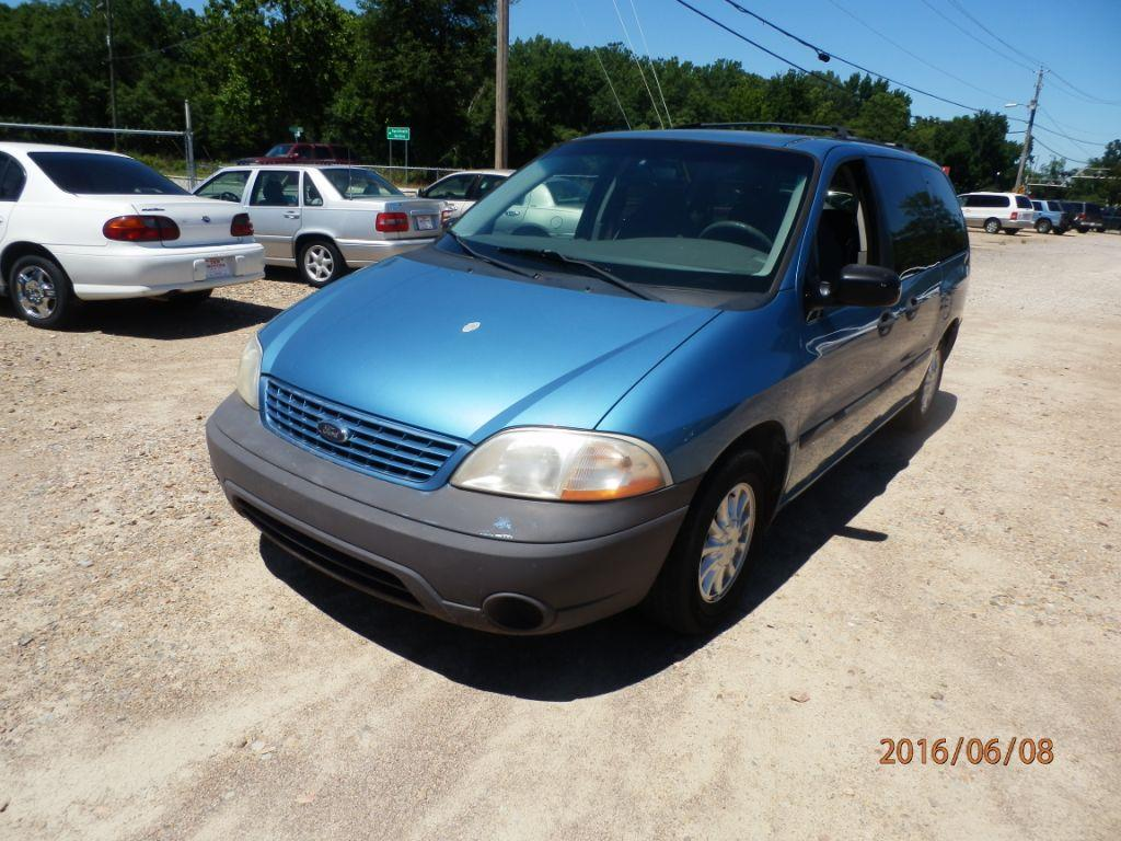 2001 FORD WINDSTAR LX 4DR MINI VAN blue down payment 80000  monthly payment 20000 cash price