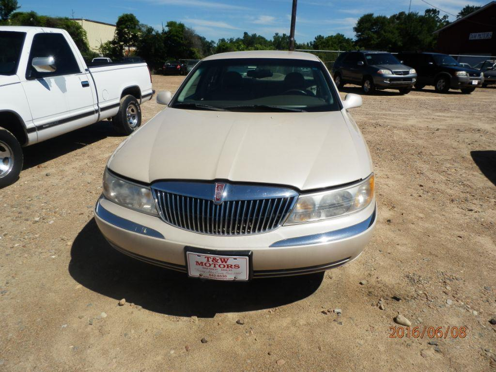 2000 LINCOLN CONTINENTAL BASE 4DR SEDAN gold down payment 90000  monthly payment 22500  cash