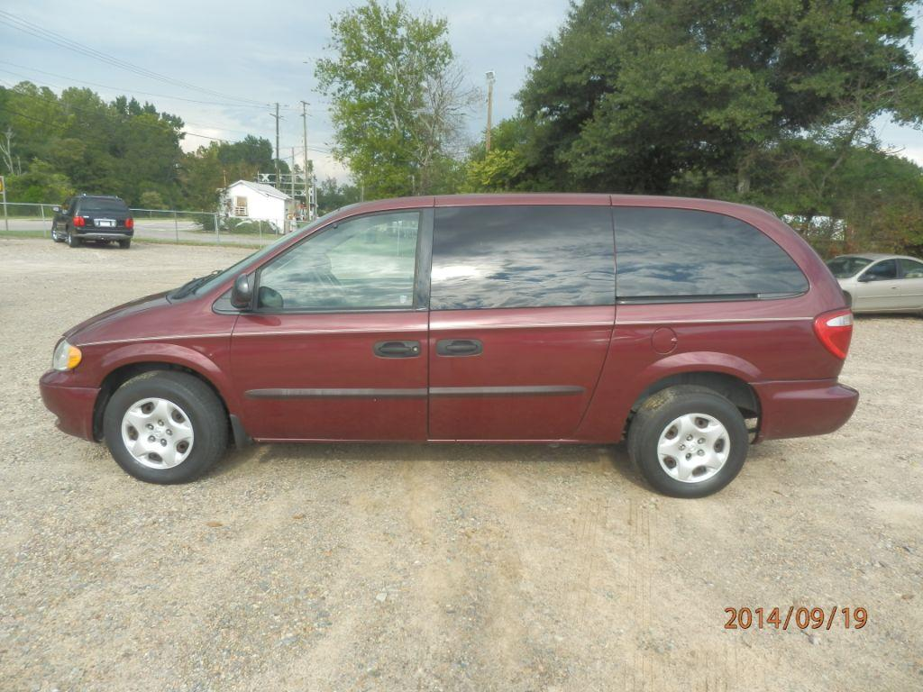 2003 DODGE GRAND CARAVAN SE 4DR EXTENDED MINI VAN burgandy front air conditioningfront air condi
