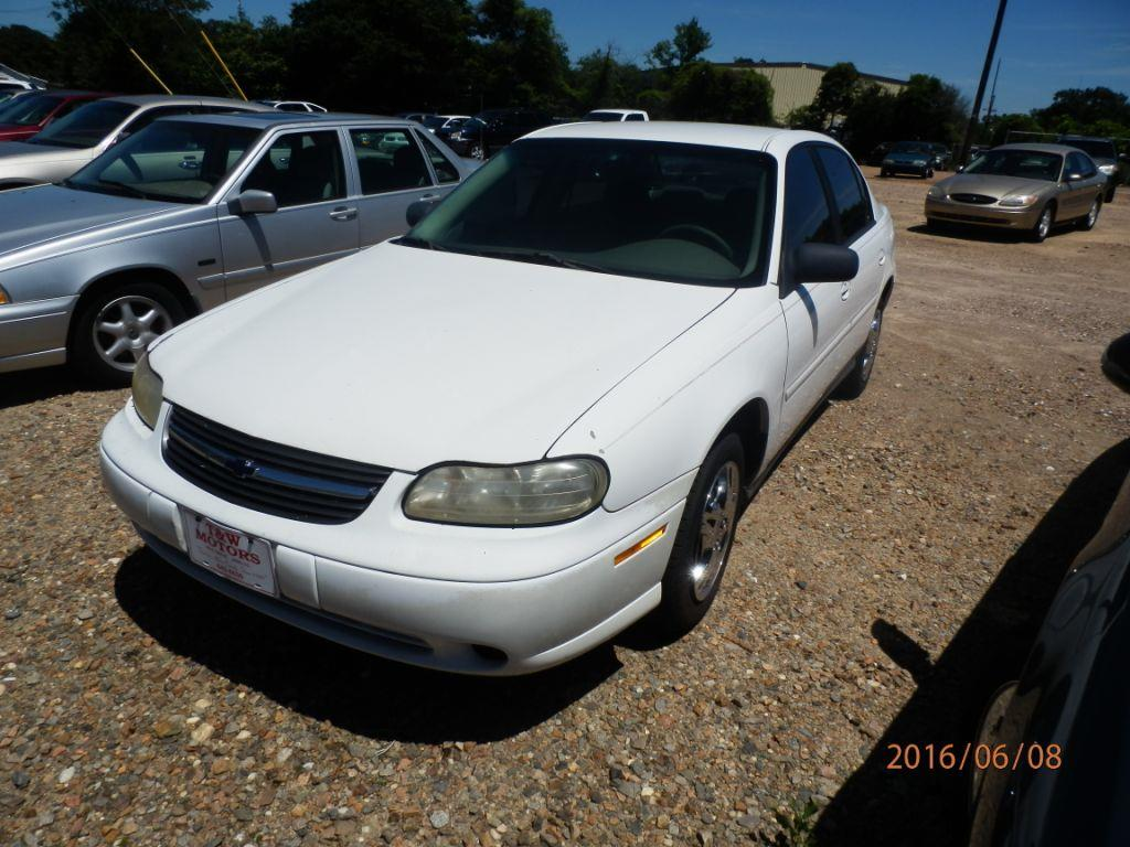 2003 CHEVROLET MALIBU BASE 4DR SEDAN white front air conditioningcenter consolemulti-function r