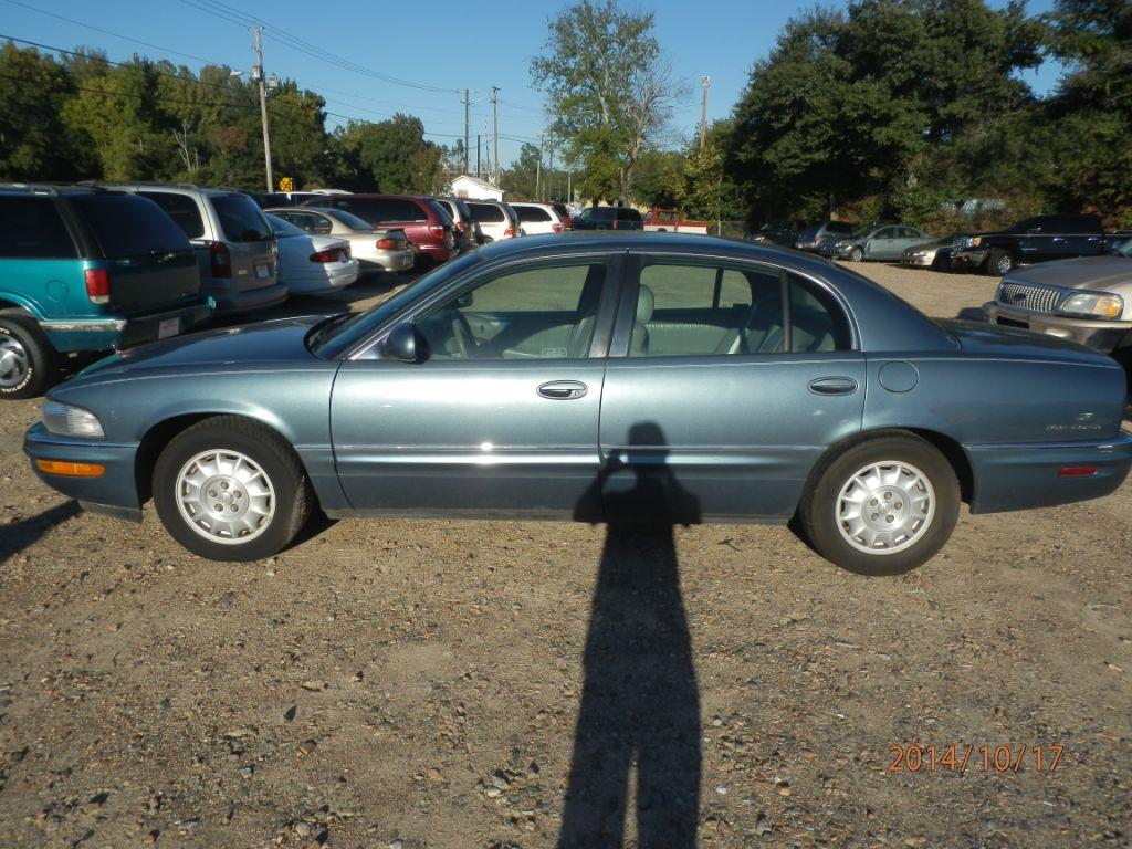 2000 BUICK PARK AVENUE BASE 4DR SEDAN blue front air conditioningfront air conditioning - automa