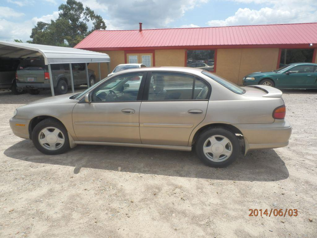 2000 CHEVROLET MALIBU LS 4DR SEDAN gold front air conditioningcenter consolecruise controlmult