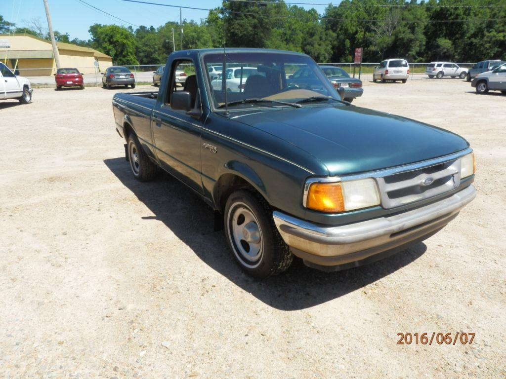 1996 FORD RANGER green down payment 90000  monthly payment 20000 cash price 249500 plus sa