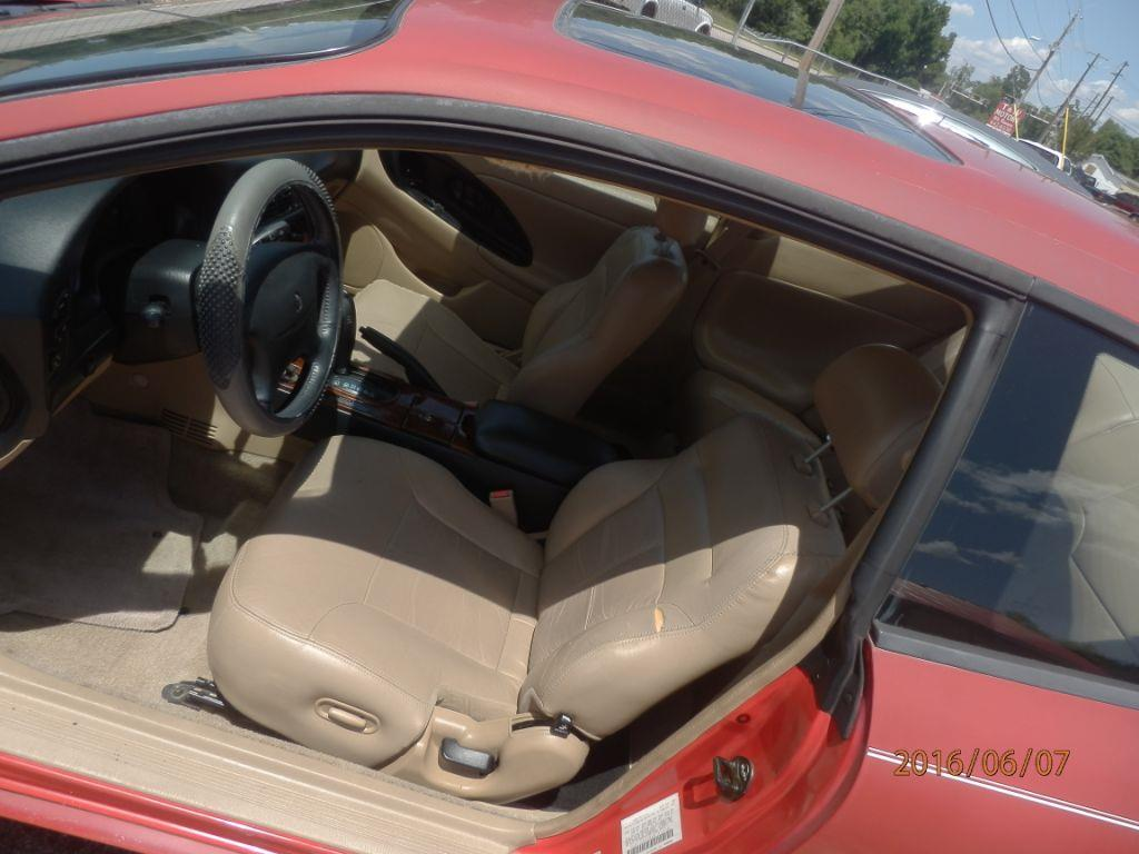 1998 CHRYSLER SEBRING LXI 2DR COUPE red down payment 80000  monthly payment 20000  cash pric