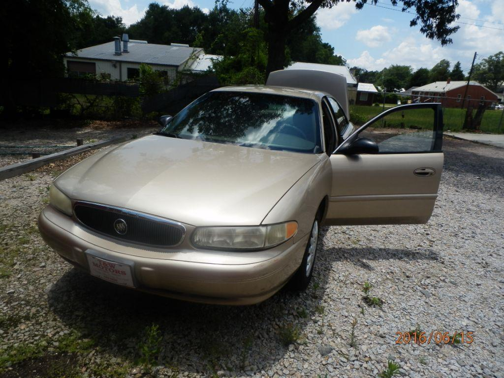 2004 BUICK CENTURY gold down payment 120000  monthly payment 22500  cash price 349500 plus