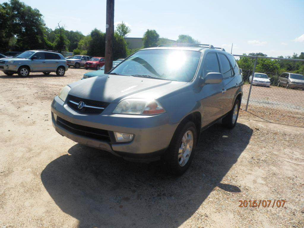 2001 ACURA MDX BASE 4WD 4DR SUV grey front air conditioningfront air conditioning - automatic cl