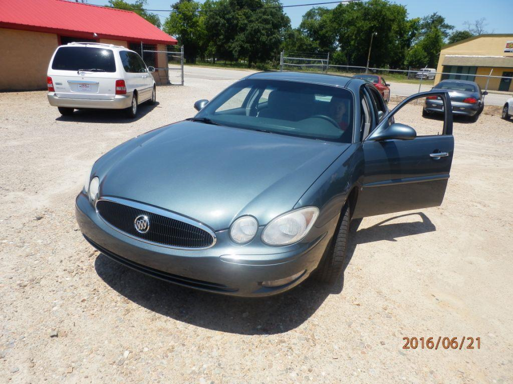 2007 BUICK LACROSSE CX 4DR SEDAN blue down payment 250000  monthly payment 27500  cash price
