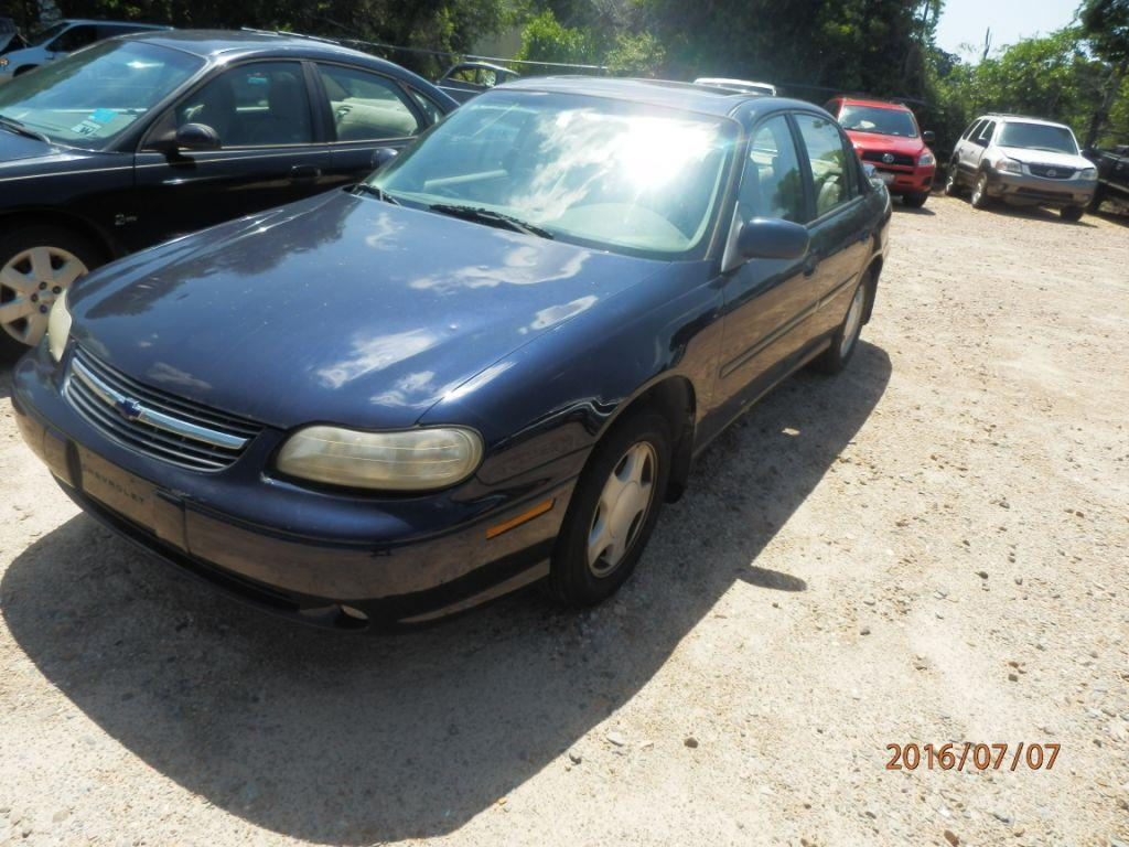 2000 CHEVROLET MALIBU LS 4DR SEDAN blue front air conditioningcenter consolecruise controlmult