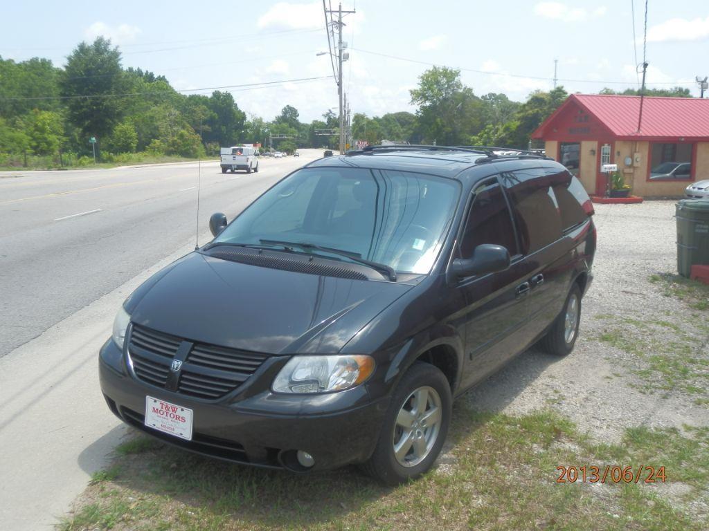 2005 DODGE GRAND CARAVAN black 199955 miles VIN 2D4GP44L85R203787