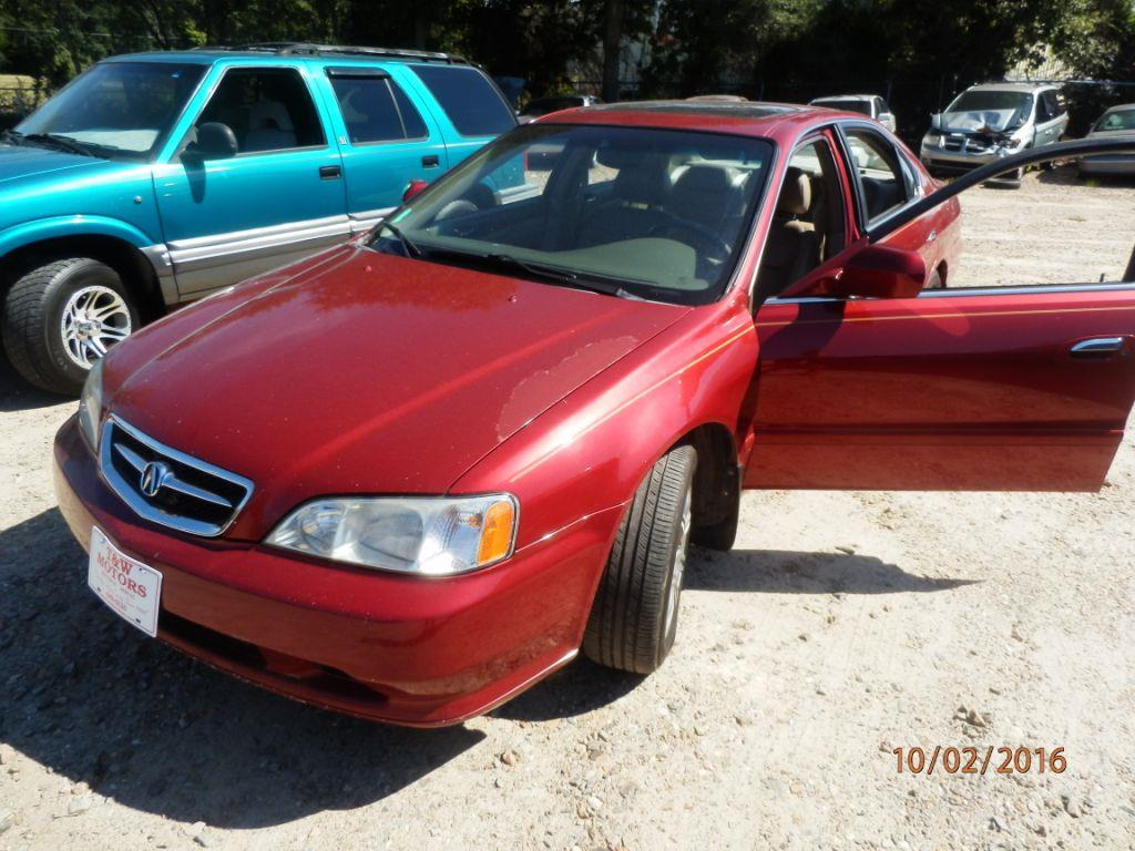 2000 ACURA TL 32 4DR SEDAN red down payment 150000  monthly payment 22500   cash price 232