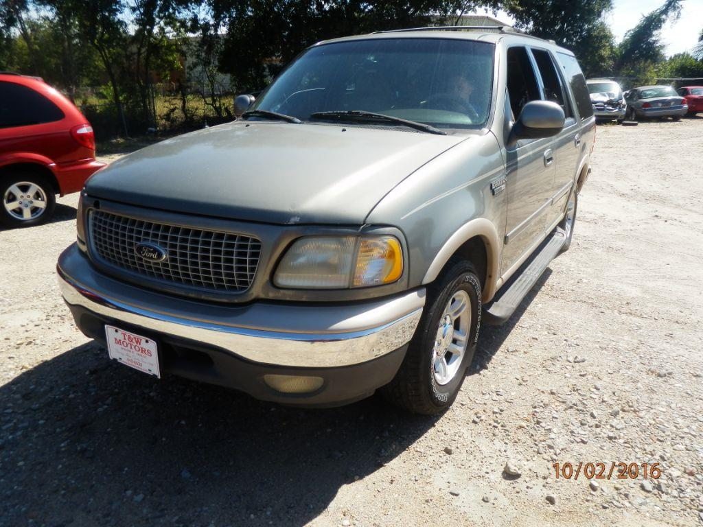1999 FORD EXPEDITION lt green down payment 90000  monthly payment 22500  cash price 249500