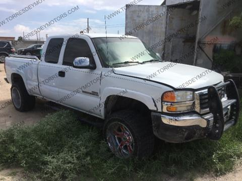 2002 GMC Sierra 2500HD for sale in El Paso, TX