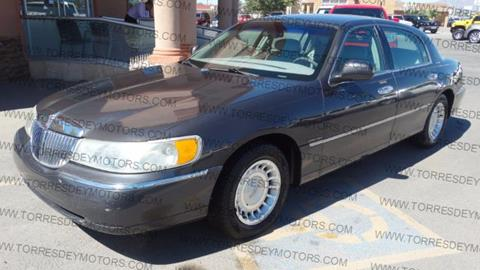 Cars For Sale El Paso >> Used Lincoln Town Car For Sale In El Paso Tx Carsforsale Com