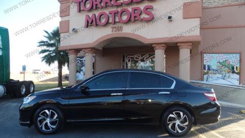 2016 Honda Accord For Sale >> 2016 Honda Accord For Sale In El Paso Tx