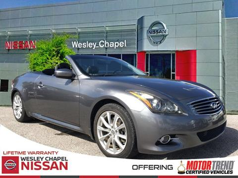 2011 Infiniti G37 Convertible for sale in Wesley Chapel, FL